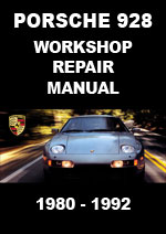 Porsche 928 1980-1992 Workshop Manual