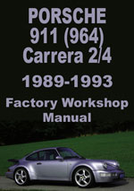 Porsche Carrera 2 & Carrera 4 (964) Workshop Manual