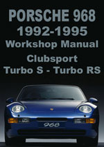 Porsche 968 Workshop Manual